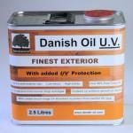 danish oil uv 2.5 litres