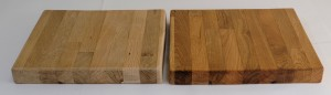 Danish Oil, before and after