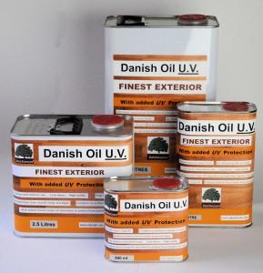 Danish Oil UV Cans