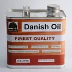 danish oil 2.5 litres