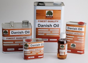 Danish Oil, various sizes