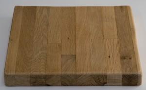 unoiled oak block